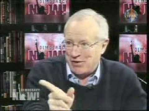 Robert Fisk on Democracy Now 1of4