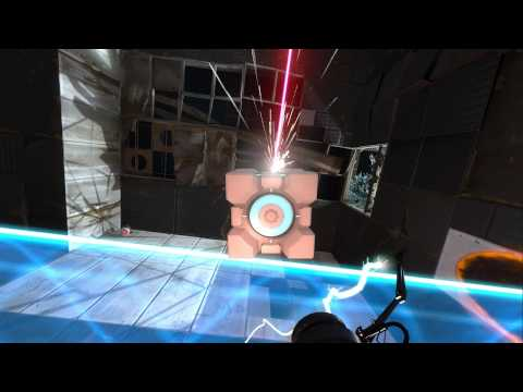 Portal 2 Talkthrough 006 - Wheatley On A Work Crew