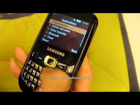 삼성 Samsung Corby TXT B3210  Quad band EDGE/GRPS Texting phone