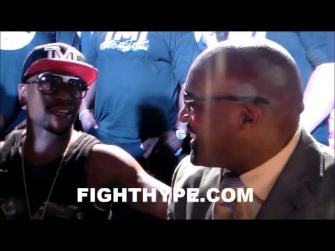 FLOYD MAYWEATHER ON ANDERSON SILVA:  I DON'T KNOW THAT GUY