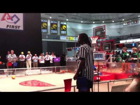 FRC - Sparky 384 (Tucker High School) Winning 2012 FIRST Robotics Virginia Regional Championship