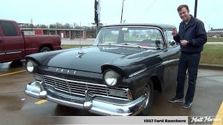 Review: 1957 Ford Ranchero - A Trip Back in Time!
