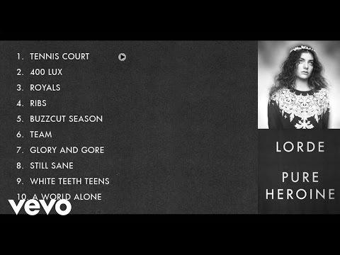 Lorde - Pure Heroine Album Sampler
