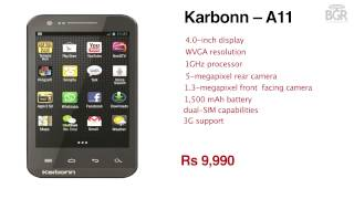 Karbonn A21 and A9+ launched in India for Rs 11,990 and Rs 9,990