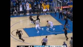 Lonzo Ball was going in on dunks during yesterday