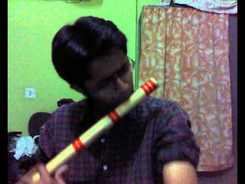 Jaane Kaha Gaye Woh Din On Flute video