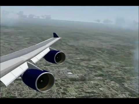 Delta Air Lines flight 621 departs Minneapolis (FS2004)