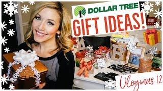 DIY DOLLAR TREE CHRISTMAS GIFT IDEAS 2018! 🎁 | CRAFT WITH ME  🎥🎄✨ Brianna K