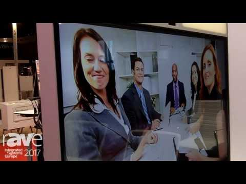ISE 2017: Gesab Showcases Collaborative Wall Meeting Room Solution