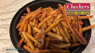 Checkers - Rally's | French Fries 🥔🍟 | Taste Test & Review | JKMCraveTV