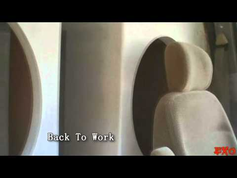 Painting MDF Subwoofer Boxes w/ Gloss Paint &amp; DaveTheBoxGuy Car Audio Designs - EXO's BIG BASS Wall