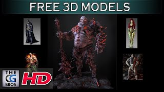 Where Are The Best FREE Downloadable HIGH RES 3D Character Models on the Internet. (Quick Tips)
