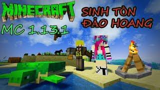 Minecraft Thử Thách Sinh Tồn Trên Đảo cùng Noob Yeti
