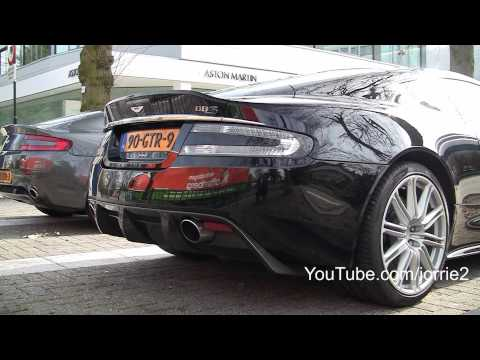 Aston Martin DBS Sound!! - 1080p HD
