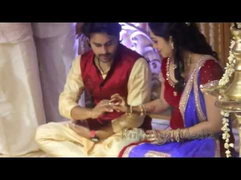 Major Kishore-Indu Thampi engagement video