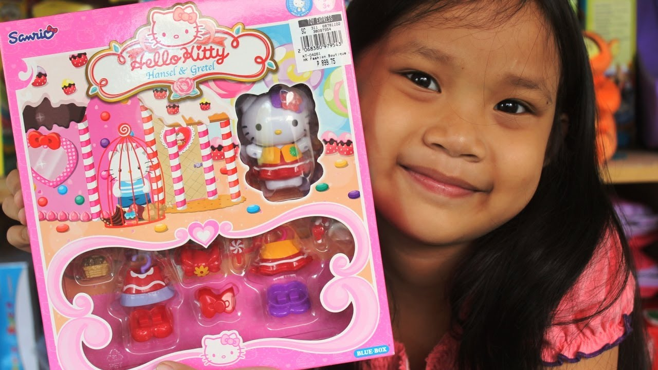 Gretel Dress Up By Sanrio Merry Christmas From Kids Toys Youtube
