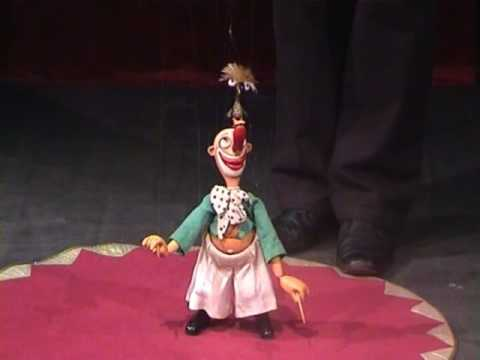 "Victor Antonov. ""Circus on the strings"" puppet show (pt.1)"