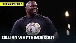 Dillian Whyte Hits The Pads Ahead Of December 7th Fight