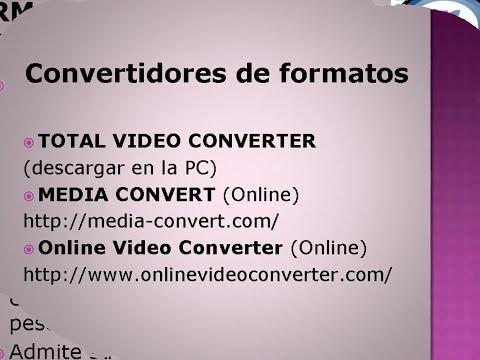 Tipos y Formatos de Videos Digitales