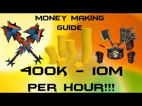 RuneScape 3 P2P EoC Money Making Guide Flipping Guide /400k – 10m + per hour 2013 Commentary