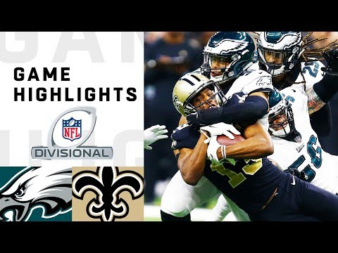 Eagles vs Saints Divisional Round Highlights  NFL 2018 Playoffs