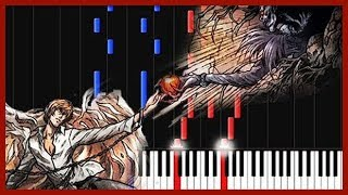 Low of Solipsism - Death Note [Piano Tutorial] (Synthesia) // DiscoNNecteD
