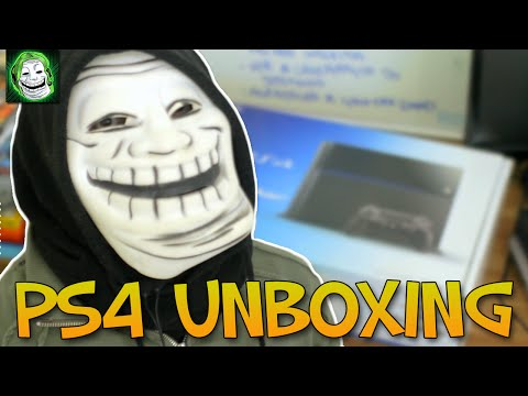 UNBOXING SONY PLAYSTATION 4 - PS4 UNBOXING PT-BR