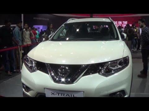Nissan X Trail Delhi Auto Expo 2016