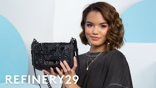 What's In Paris Berelc's Bag | Spill It | Refinery29