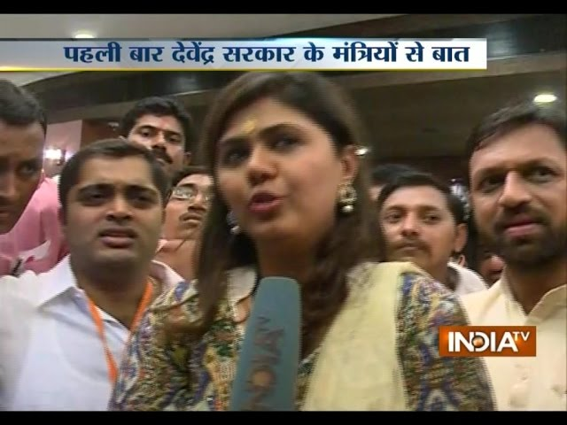 We have to now find answers of the questions put by people: Pankaja Munde