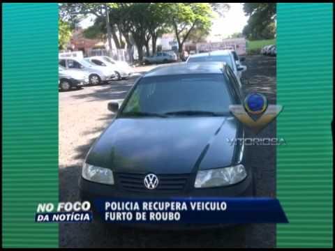 Polícia recupera veículo produto de roubo em Uberlândia