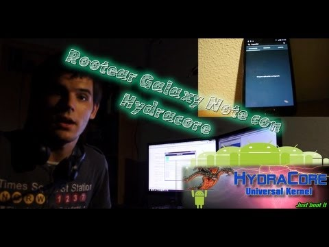 Cómo rootear Samsung Galaxy Note GT-N7000 flasheando Hydracore o Speedmod