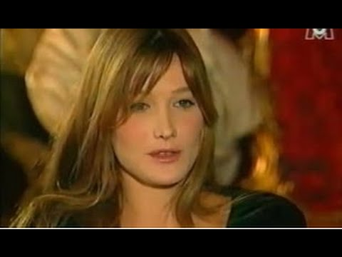 CARLA BRUNI Fréquenstar in 1994 Part.1/3...Music By Lollita