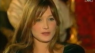 Carla Bruni Very Young 26 Years Old Interview In Fréquenstar In 1994 Part 1