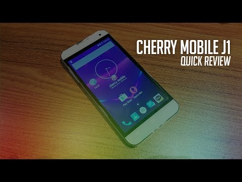 Cherry Mobile Flare J1 Quick Review