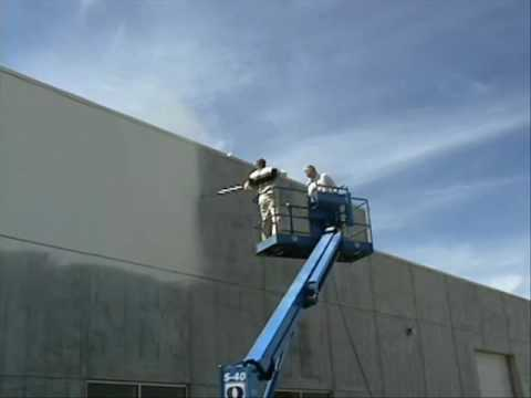 Painting exterior using graco airless spray machine wmv - Paint sprayer for house exterior ...