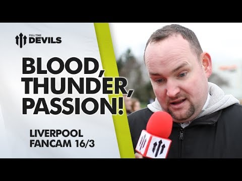 Blood,Thunder,Passion,Sweat,Tears? | Manchester United 0-3 Liverpool | FAN CAM