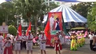 Thi diễu hành -  Hội thi nghi thức đội TNTP Hồ Chí Minh cấp Thành Phố - Năm 2018