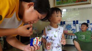Tin ăn thử kẹo dẻo bao đường của Thái Lan