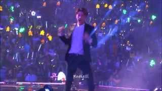 [fancam] 140830 Exo The Lost Planet in Guangzhou love love love (Sehun focus)
