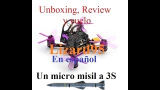 Eachine Lizard 95. Review y vuelo en Español