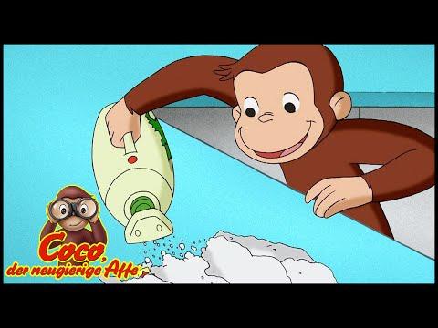 Coco der Neugierige Affe 🐵 Coco Räumt Auf 🐵 Cartoons für Kinder   Coco der Affe Ganze Folgen