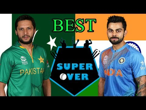 best super over in cricket ind vs pak ipl cpl nz history highlights