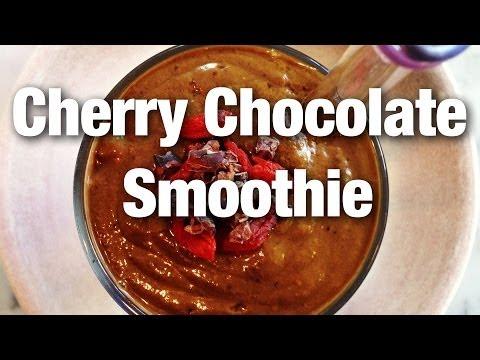 Quick Breakfast Smoothie: Cherry Chocolate Smoothie | Jason Wrobel