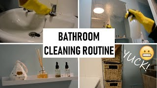 Clean My (Dirty) Bathroom With Me | My Bathroom Cleaning Routine | Shamsa