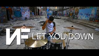 Download Lagu NF - Let You Down - DRUMS COVER Gratis STAFABAND