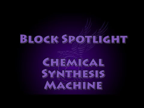 chemical synthesis machine