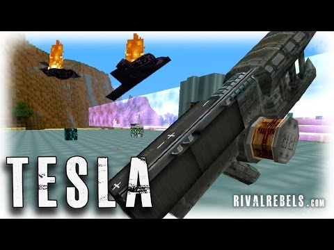 Minecraft Reactor Rival Rebels Tesla mod