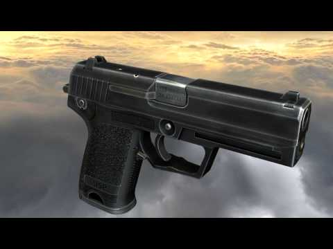HK USP (full disassembly and operation)