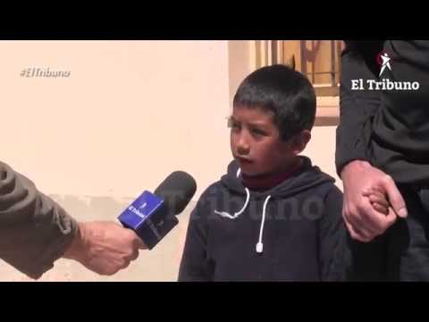 Luisito Amado, tiene 7 años y sueña con ser pediatra